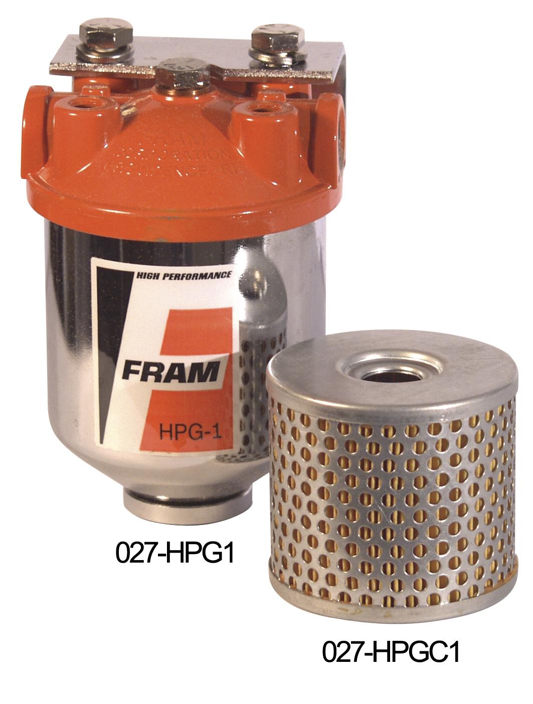 Fram Fuel Filter Element Only Keyser Manufacturing Performance